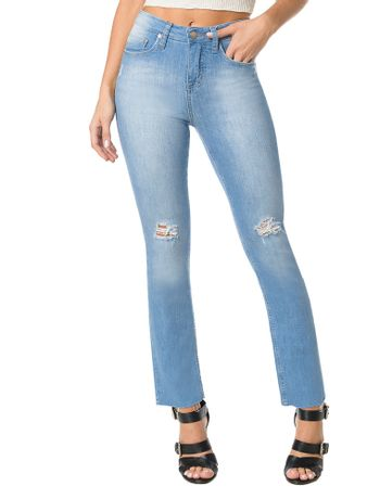 CALCA-CALVIN-KLEIN-JEANS-FIVE-POCKETS-STRAIGHT-HIGH-AZUL-CLARO