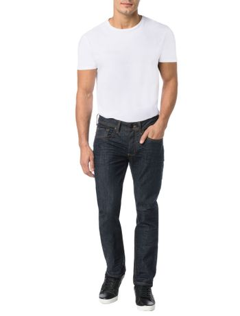 CALCA-CALVIN-KLEIN-JEANS-FIVE-POCKETS-SLIM-STRAIGHT-MARINHO