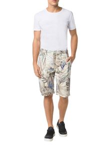 BERMUDA-CALVIN-KLEIN-JEANS-CALIFORNIAN-PALMS-OFF-WHITE