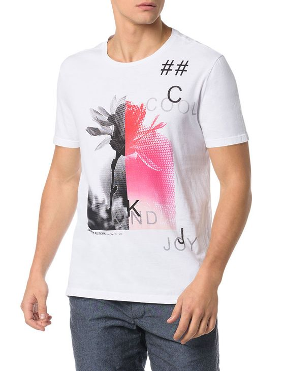 CAMISETA-CALVIN-KLEIN-JEANS-FLOWER-COOL-KIND-JOY-BRANCO