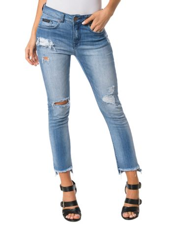CALCA-CALVIN-KLEIN-JEANS-5-POCKETS-SKINNY-HIGH-AZUL-MEDIO