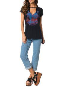 Blusa-Calvin-Klein-Jeans-Estampa-Frontal-Preto