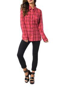 Camisa-Calvin-Klein-Jeans-Xadrez-Vermelho