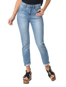 CALCA-CALVIN-KLEIN-JEANS-FIVE-POCKETS-MOM-AZUL-CLARO