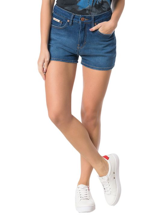 SHORTS-CALVIN-KLEIN-JEANS-FIVE-POCKETS-MARINHO