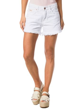 SHORTS-COLOR-CALVIN-KLEIN-JEANS-FIVE-POCKETS-BRANCO