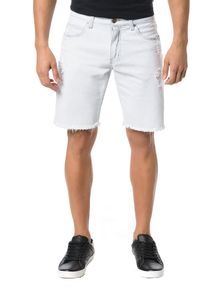 BERMUDA-CALVIN-KLEIN-JEANS-FIVE-POCKETS-OFF-WHITE