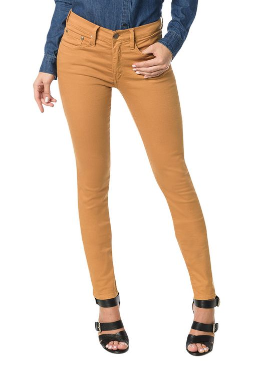 CALCA-JEGGING-CALVIN-KLEIN-JEANS-COORDENADO-POWER-STRETCH-HAVANA