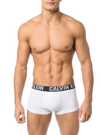 CUECA-LOW-RISE-TRUNK-CALVIN-KLEIN-UNDERWEAR-VENT-COOL-BRANCO