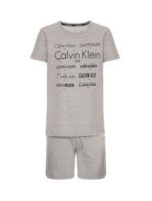 PIJAMA-INFANTIL-CALVIN-KLEIN-UNDERWEAR-CAMISETA---BERMUDA-DE-COTTON-HERITAGE-MESCLA
