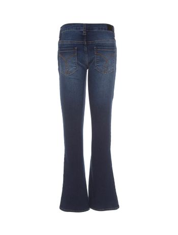 CALCA-CALVIN-KLEIN-JEANS-FIVE-POCKETS-FLARE-AZUL-MEDIO