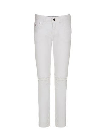 CALCA-CALVIN-KLEIN-JEANS-FIVE-POCKETS-SUPER-SKINNY-BRANCO