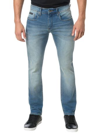 CALCA-CALVIN-KLEIN-JEANS-5-POCKETS-SLIM-STRAIGHT-AZUL-MEDIO