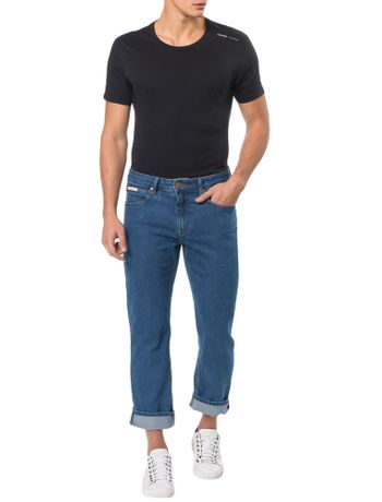 CALCA-CALVIN-KLEIN-JEANS-FIVE-POCKETS-STRAIGHT-STONE-AZUL-MEDIO