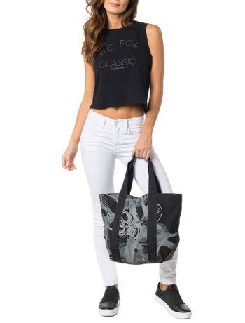 Shopping-Calvin-Klein-Jeans-Flower-Preto