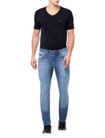 CALCA-CALVIN-KLEIN-JEANS-SKINNY-FIVE-POCKETS-USED-AZUL-MEDIO