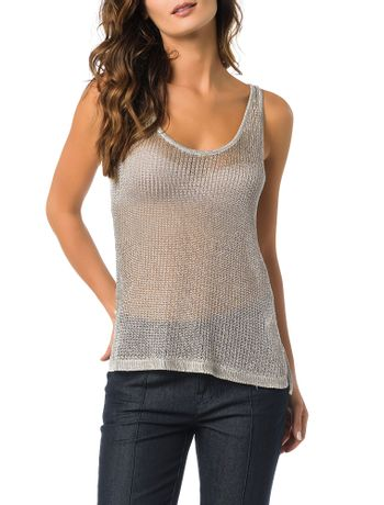 TRICOT-CALVIN-KLEIN-JEANS-LUREX-LIGHT-GREY