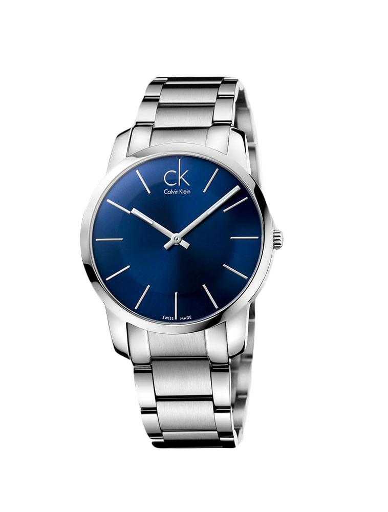 666d7db29d8 Relógio Calvin Klein Azul Com Pulseira De Aço - Calvin Klein