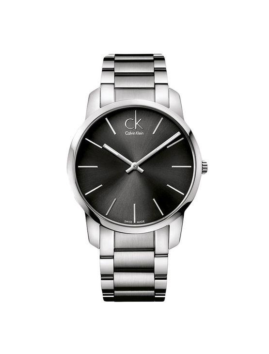 fe3831e007a Relógio Calvin Klein Preto Com Pulseira De Aço - Calvin Klein