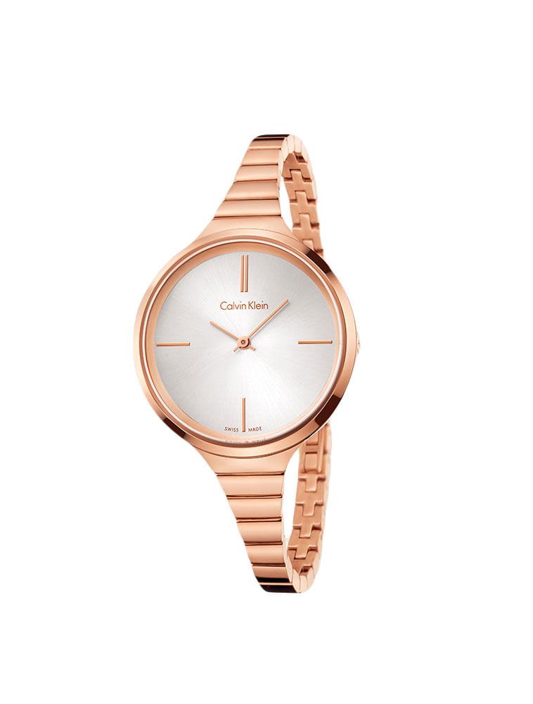 5a236368548 Relógio Calvin Klein Pulseira De Aço Rose - Calvin Klein