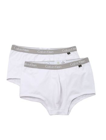 KIT-2-CUECAS-LOW-RISE-TRUNK-CALVIN-KLEIN-UNDERWEAR-CK-ONE-COTTON-WHITE