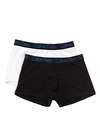 KIT-2-CUECAS-TRUNK-CALVIN-KLEIN-UNDERWEAR-DE-COTTON-AZUL-MEDIO