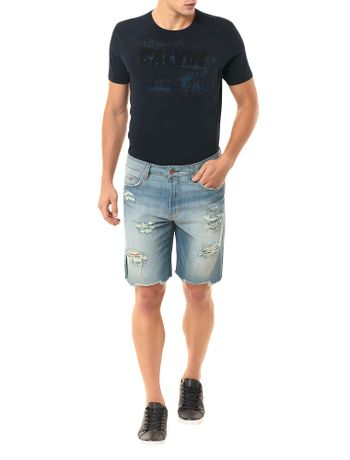BERMUDA-CALVIN-KLEIN-JEANS-FIVE-POCKETS-COM-DIRTY-AZUL-CLARO