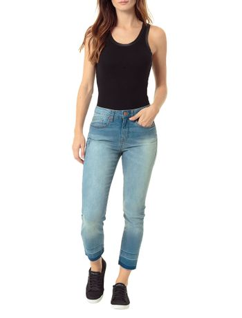 CALCA-CALVIN-KLEIN-JEANS-FIVE-POCKETS-SKINNY-HIGH-AZUL-CLARO