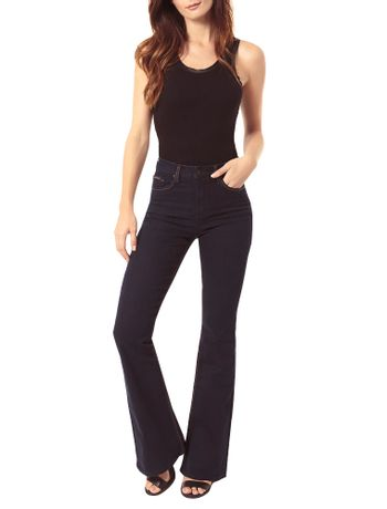 CALCA-CALVIN-KLEIN-JEANS-FIVE-POCKETS-FLARE-HIGH-MARINHO