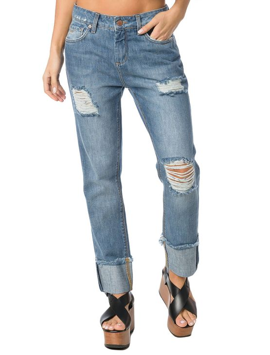 CALCA-CALVIN-KLEIN-JEANS-FIVE-POCKETS-GIRLFRIEND-AZUL-MEDIO