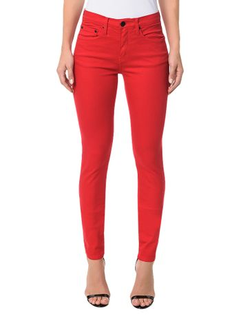 Calca-Jegging-Calvin-Klein-Jeans-Coordenada-Power-Stretch-Vermelho