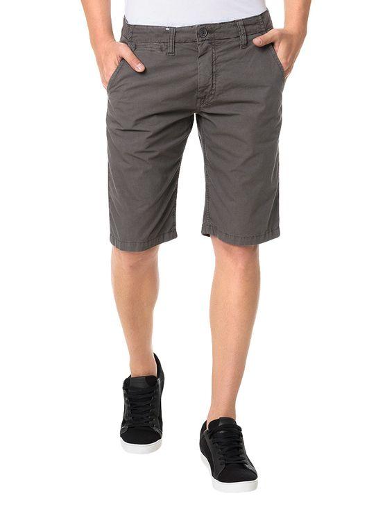 Bermuda-Color-Calvin-Klein-Jeans-Basica-Chumbo