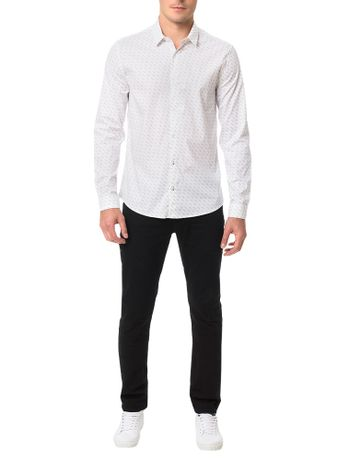 Camisa-Calvin-Klein-Jeans-Calvin-All-Over-Branco