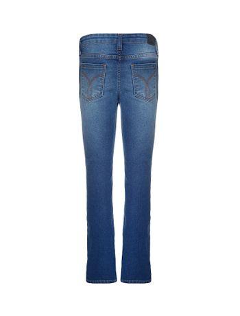Calca-Jeans-Infantil-Calvin-Klein-Jeans-Five-Pockets-Skinny-Azul-Medio