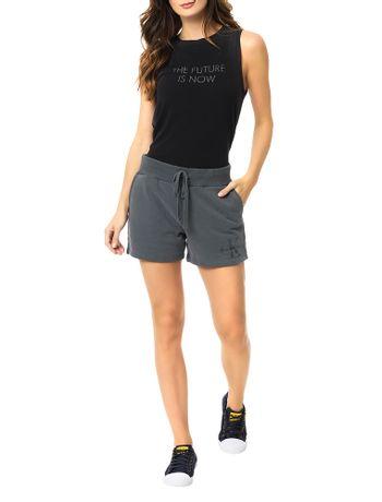 Shorts-Malha-Calvin-Klein-Jeans-Com-Estampa-Frontal-Chumbo