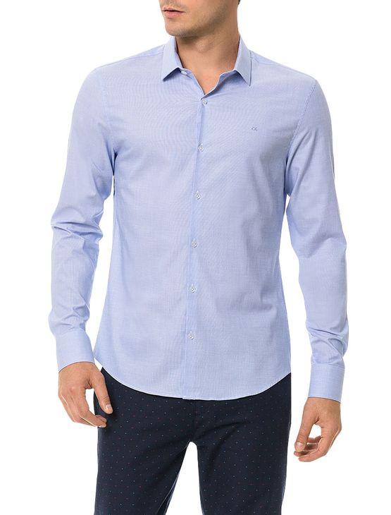 Camisa-Slim-Calvin-Klein-Cannes-Fil-a-Fil-Azul-Bebe