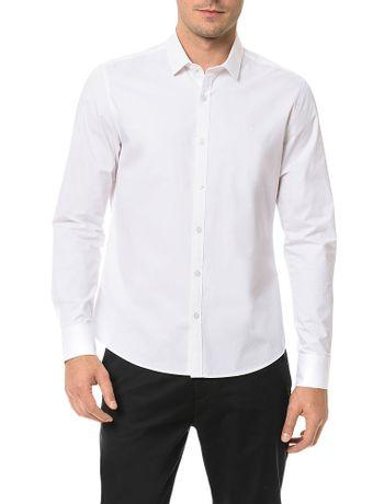 Camisa-Slim-Calvin-Klein-Cannes-Peach-Touch-Branco
