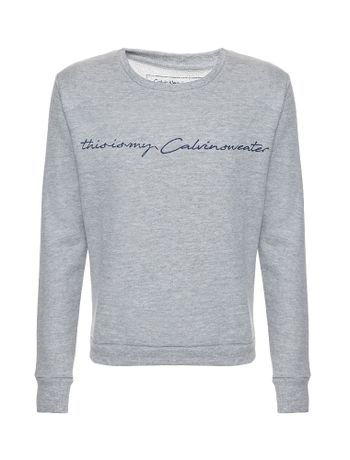 Casaco-Moletom-Infantil-Calvin-Klein-Jeans-This-Is-My-Calvin-Mescla