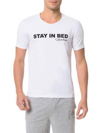 Camiseta-Calvin-Klein-Underwear-De-Cotton-Logo-Branco