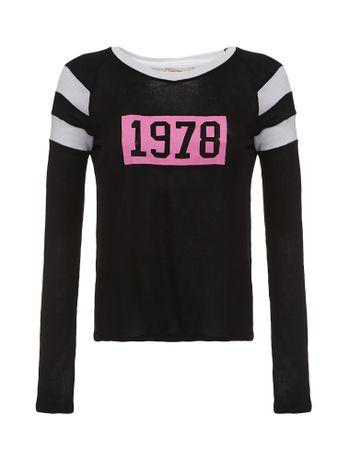 Blusa-Infantil-Calvin-Klein-Jeans-Faixas-Nas-Mangas-Preto
