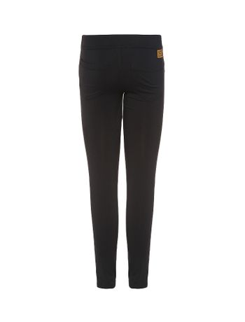 Calca-Legging-Infantil-Calvin-Klein-Jeans-Silk-Traseiro-Preto