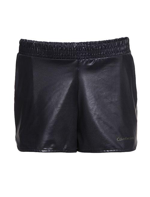 Shorts Infantil Calvin Klein Jeans Cirré Preto