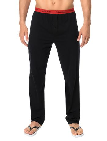 Calca-De-Pijama-Calvin-Klein-Underwear-Pro-Red-Preto