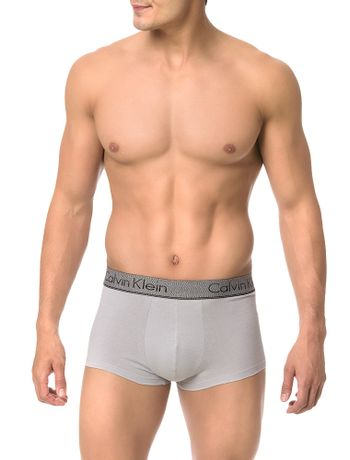 Cueca-Low-Rise-Trunk-Calvin-Klein-Underwear-Chacoal-Heather-Cinza-Claro