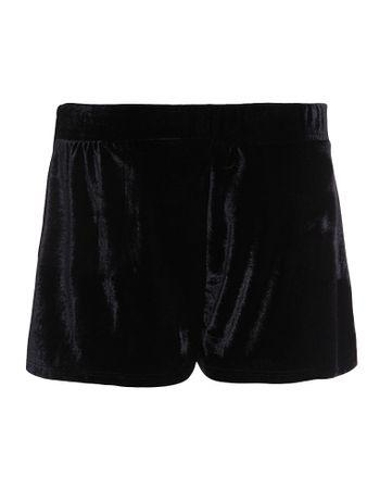 Shorts-Infantil-Calvin-Klein-Jeans-De-Veludo-Preto