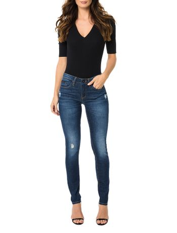 Calca-Calvin-Klein-Jeans-5-Pockets-Super-Skinny-High-Marinho