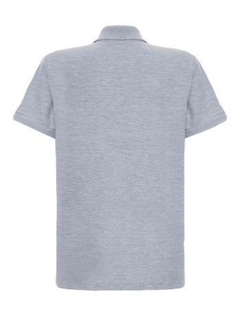 Polo-Infantil-Calvin-Klein-Jeans-Estampa-Logo-Horizontal-Mescla