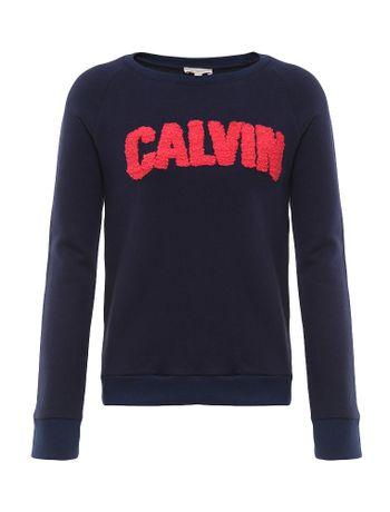 bfcd69eb74672 Blusa Infantil Calvin Klein Jeans New York Preto - Calvin Klein