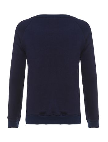 Blusa-Infantil-Calvin-Klein-Jeans-Com-Bordado-Marinho