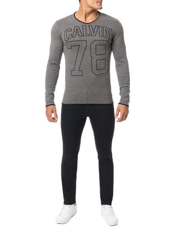 Sueter-Calvin-Klein-Jeans-Barra-Fio-Chumbo
